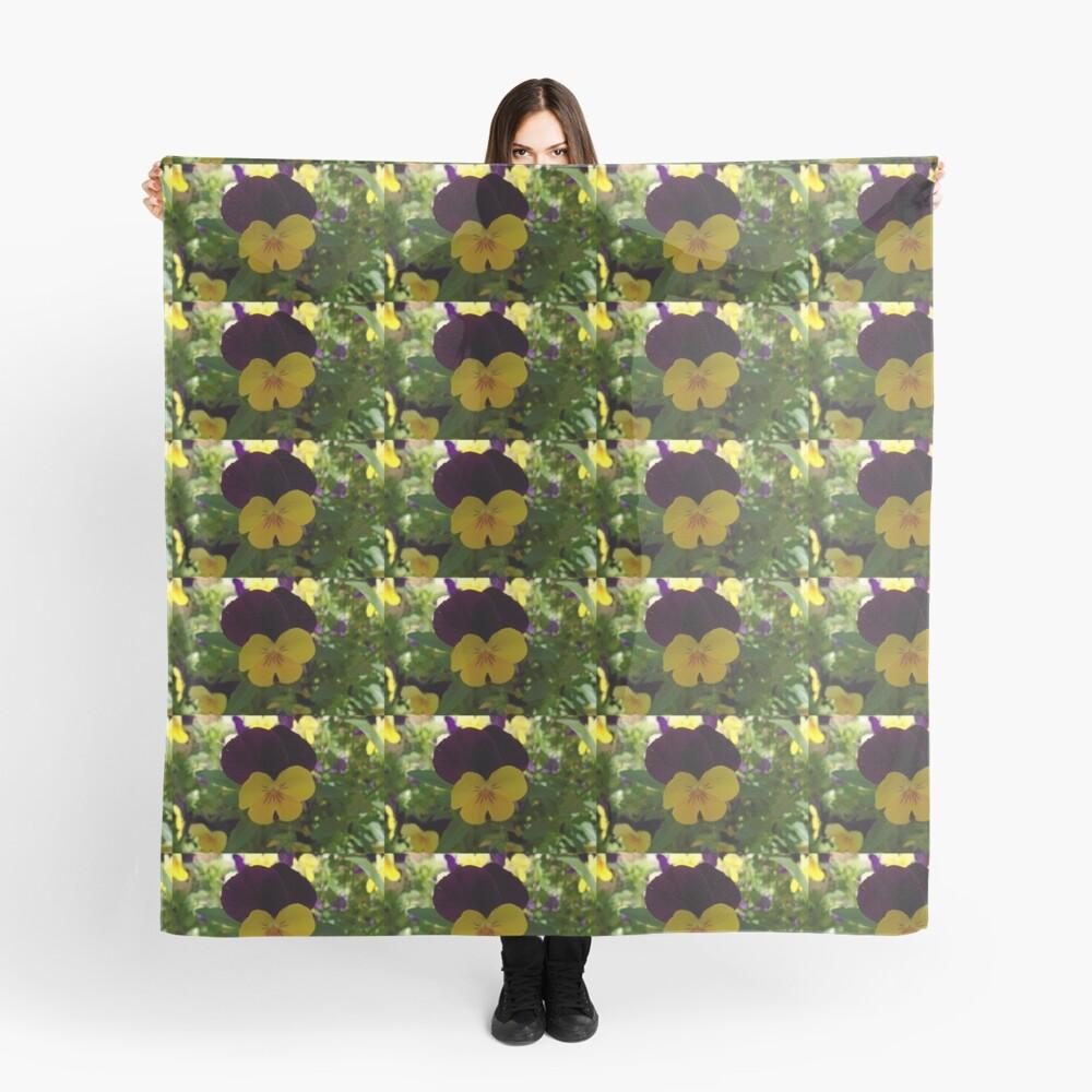 Stiefmütterchen Tuch