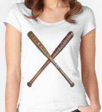 Best baseball Bats Women's Fitted Scoop T-Shirt