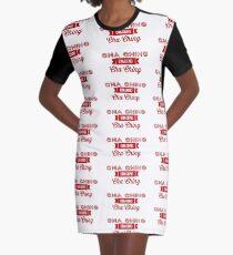 Cha Ching  Graphic T-Shirt Dress