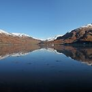 Five Sisters of Kintail (panorama) by Maria Gaellman