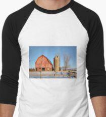 Empty Barnyard Men's Baseball ¾ T-Shirt