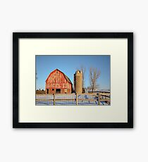 Empty Barnyard Framed Print