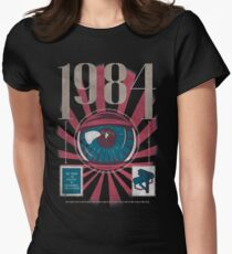 Dystopia V2 Womens Fitted T-Shirt