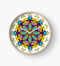 Resiliency Mandala Design Clock