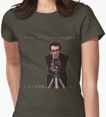 Elvis Costello Womens Fitted T-Shirt