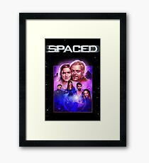 Spaced TV Show Artwork Framed Print