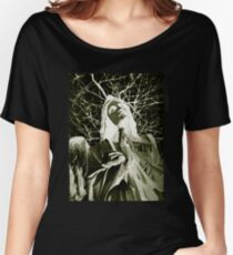 Statue Of An Angel Women's Relaxed Fit T-Shirt
