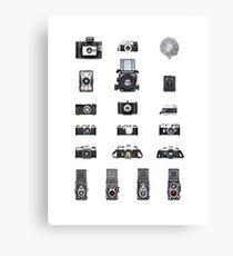 Cameras Collection Canvas Print