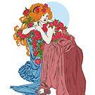Winter Roses by redqueenself