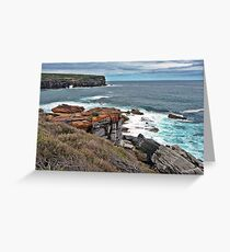 Wattamolla Cove Entrance Greeting Card