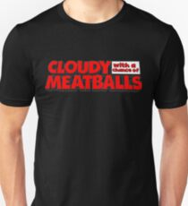 Cloudy with a chance of Meatballs 8 T-Shirt