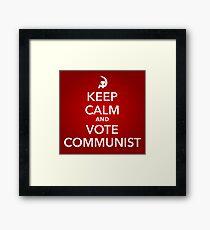 keep calm 2 Framed Print