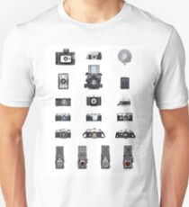 Cameras Collection Unisex T-Shirt