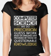 computer science Women's Fitted Scoop T-Shirt