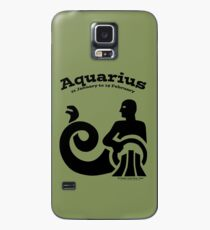 Signs of the Zodiac:   AQUARIUS Case/Skin for Samsung Galaxy