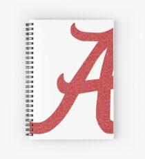 University of Alabama Spiral Notebook