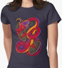 Dragon Bike Womens Fitted T-Shirt