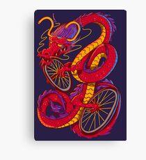 Dragon Bike Canvas Print