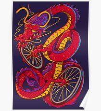 Dragon Bike Poster