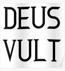 Deus Vult LARP Re-Enactment Poster
