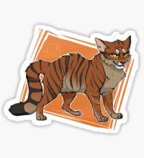 Tigerstar Sticker