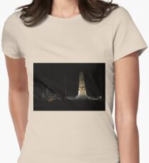 Lunar Eclipse - Perth, Western Australia Women's Fitted T-Shirt