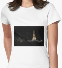 Lunar Eclipse - Perth, Western Australia Womens Fitted T-Shirt