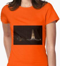 Lunar Eclipse - Perth, Western Australia Women's Fitted T-Shirt