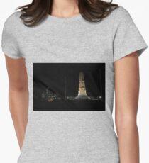 Lunar Eclipse - Perth, Western Australia Womens Fitted T-Shirt