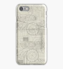 Industrial vehicles pattern iPhone Case/Skin