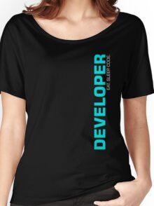 Eat Sleep Code Repeat Developer Programmer Women's Relaxed Fit T-Shirt