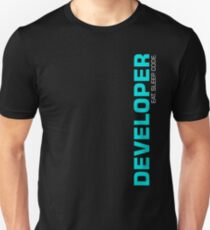 Eat Sleep Code Repeat Developer Programmer T-Shirt