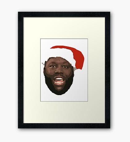 Killer Santa Mike Framed Print