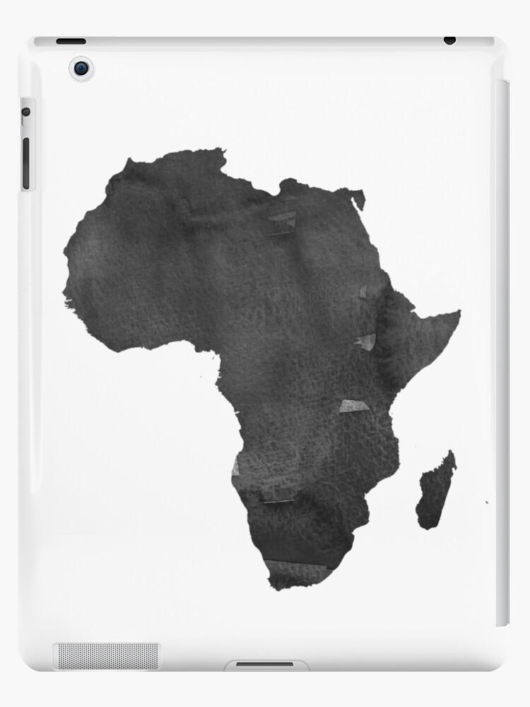 Vinilos y fundas para iPad «Mapa de África Imprimir África Mapa ...