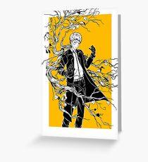 Yellowish Greeting Card