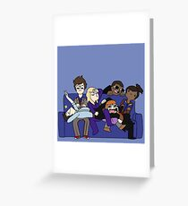 Team Tenth Doctor! Greeting Card