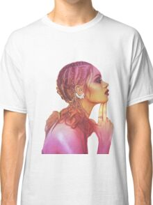 Independent yellow magenta woman Classic T-Shirt