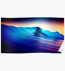 Rolling waves Poster