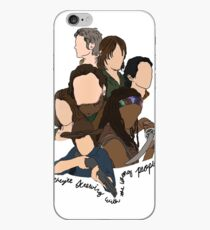 screwing with the wrong people iPhone Case