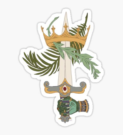 Ace of Swords Sticker