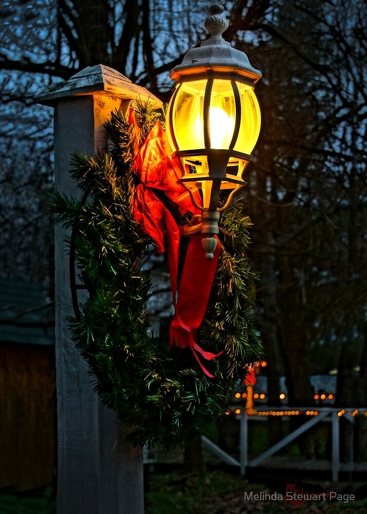 """""""It's Begining To Look A Lot Like Christmas"""" by Melinda Stewart Page"""