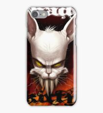 Evil The Cat - Bad Kitty iPhone Case/Skin