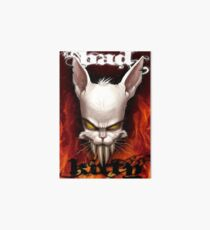 Evil The Cat - Bad Kitty Art Board