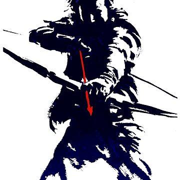 blue arrow by met90