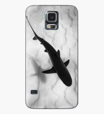 Shark in silhouette Case/Skin for Samsung Galaxy