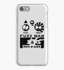 Fuzz War iPhone Case/Skin