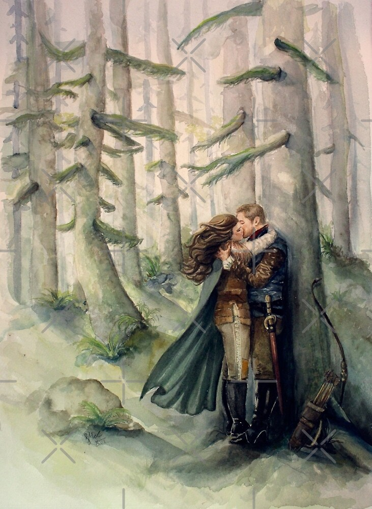 Snow and Charming by Sarah  Mac Illustration