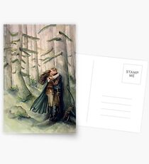 Snow and Charming Postcards