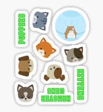 Puppies vs Kittens - Sticker Sheet Sticker