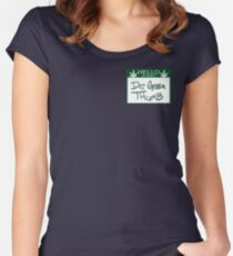 Dr. Green Thumb Women's Fitted Scoop T-Shirt
